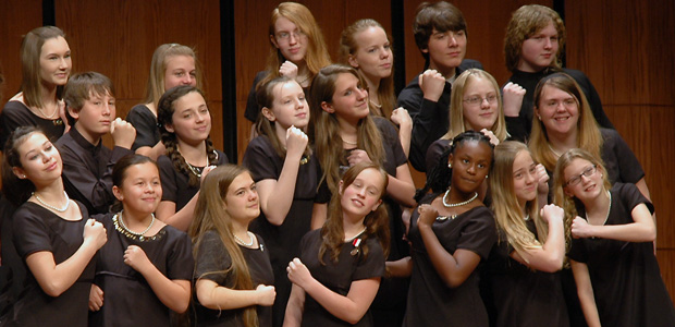 Members of CCM Concert Choir